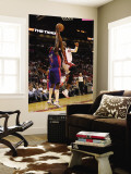 Detroit Pistons v Miami Heat: Dwyane Wade and Ben Wallace Wall Mural by Mike Ehrmann
