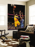 Washington Wizards v Los Angeles Lakers: Derrick Caracter and Kevin Seraphin Wall Mural by Noah Graham