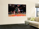 Boston Celtics v New York Knicks - Game Four, New York, NY - April 24: Toney Douglas and Jermaine O Wall Mural by Unknown Unknown