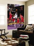 Houston Rockets v Sacramento Kings: Tyreke Evans and Shane Battier Wall Mural by Rocky Widner