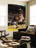 Charlotte Bobcats v Miami Heat: Tyrus Thomas and Chris Bosh Wall Mural by Mike Ehrmann