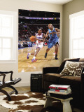New Orleans Hornets v Philadelphia 76ers: Lou Williams and Jarrett Jack Wall Mural by David Dow