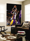 Los Angeles Lakers v Minnesota Timberwolves: Michael Beasley and Kobe Bryant Wall Mural by David Sherman