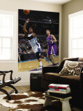 Sacramento Kings v New Orleans Hornets: Chris Paul and Beno Udrih Wall Mural by Layne Murdoch