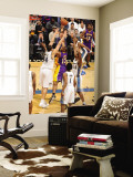 Los Angeles Lakers v Washington Wizards: Andrew Bynum, JaVale McGee and Hilton Armstrong Wall Mural by Andrew Bernstein