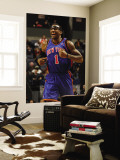 New York Knicks v Charlotte Bobcats: Amar'e Stoudemire Wall Mural by Kent Smith