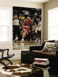 Chicago Bulls v Cleveland Cavaliers: Carlos Boozer and Antawn Jamison Wall Mural by David Liam Kyle