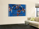 Milwaukee Bucks v Detroit Pistons: Drew Gooden and Jason Maxiell Wall Mural by Allen Einstein