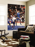 Orlando Magic v Los Angeles Clippers: Marcin Gortat and Baron Davis Wall Mural by Noah Graham