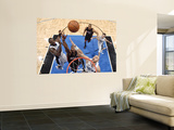 Miami Heat v Orlando Magic: Dwyane Wade, Brandon Bass and Marcin Gortat Wall Mural by Fernando Medina