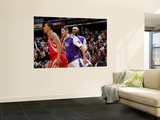 Houston Rockets v Sacramento Kings: Omri Casspi and DeMarcus Cousins Wall Mural by Rocky Widner