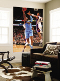Denver Nuggets v Phoenix Suns: Channing Frye and Al Harrington Wall Mural by Barry Gossage