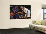 New York Knicks v Denver Nuggets: Amar'e Stoudemire and Al Harrington Wall Mural by Doug Pensinger