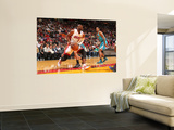 New Orleans Hornets v Miami Heat: Dwyane Wade Wall Mural by Victor Baldizon