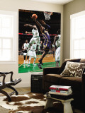 Indiana Pacers v Boston Celtics: Roy Hibbert and Nate Robinson Wall Mural by Brian Babineau