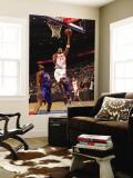 New York Knicks v Detroit Pistons: Tracy McGrady and Bill Walker Wall Mural by Allen Einstein