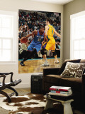 Oklahoma City Thunder v New Orleans Hornets: Kevin Durant and Jason Smith Wall Mural by Chris Unknown