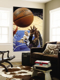 Phoenix Suns v Orlando Magic: Hakim Warrick and Marcin Gortat Wall Mural by Fernando Medina