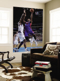 Detroit Pistons v Dallas Mavericks: Greg Monroe and Brendan Haywood Wall Mural by Glenn James