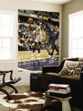 Charlotte Bobcats v Indiana Pacers: Roy Hibbert and Kwame Brown Wall Mural by Ron Hoskins