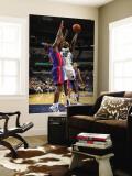 Detroit Pistons v Memphis Grizzlies: Zach Randolph and Ben Wallace Wall Mural by Joe Murphy
