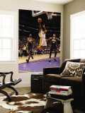Indiana Pacers v Los Angeles Lakers: Kobe Bryant, Roy Hibbert and Danny Granger Wall Mural by Andrew Bernstein