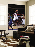 New Orleans Hornets v Philadelphia 76ers: Jrue Holliday and Emeka Okafor Wall Mural by David Dow