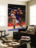 Los Angeles Lakers v Los Angeles Clippers: Derek Fisher and Jarron Collins Wall Mural by Noah Graham