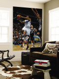 San Antonio Spurs v New Orleans Hornets: Willie Green and Tim Duncan Wall Mural by Layne Murdoch