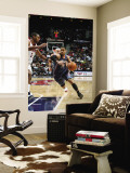 Charlotte Bobcats v Atlanta Hawks: D.J. Augustin and Al Horford Wall Mural by Scott Cunningham