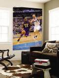 Los Angeles Lakers v Dallas Mavericks - Game Four, Dallas, TX - MAY 8: Kobe Bryant and Jason Kidd Wall Mural by Noah Graham