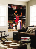 Chicago Bulls v Phoenix Suns: James Johnson and Channing Frye Wall Mural by Barry Gossage