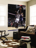 Charlotte Bobcats v Atlanta Hawks: Joe Johnson and Shaun Livingston Wall Mural by Scott Cunningham