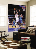 New Orleans Hornets v Philadelphia 76ers: Elton Brand and David West Wall Mural by David Dow
