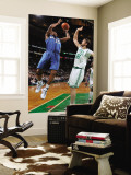 Washington Wizards v Boston Celtics: Trevor Booker and Semih Erden Wall Mural by Brian Babineau