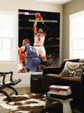 Minnesota Timberwolves v Chicago Bulls: Carlos Boozer and Kevin Love Wall Mural by Ray Amati