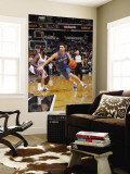 Washington Wizards v Sacramento Kings: Kirk Hinrich and Pooh Jeter Wall Mural by Rocky Widner