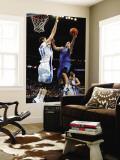 Dallas Mavericks v New Orleans Hornets: Jose Barea and Jason Smith Wall Mural by Chris Graythen