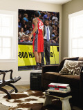 New Jersey Nets v Denver Nuggets: Avery Johnson and Devin Harris Wall Mural by Garrett Ellwood