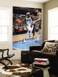 Milwaukee Bucks v Dallas Mavericks: Jason Terry and Andrew Bogut Wall Mural by Glenn James