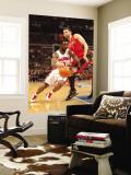 Toronto Raptors v Detroit Pistons: Ben Gordon and Andrea Bargnani Wall Mural by Allen Einstein