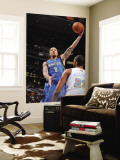 Minnesota Timberwolves v Denver Nuggets: Michael Beasley and Shelden Williams Wall Mural by Garrett Ellwood