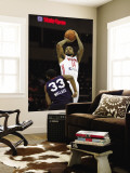 Bakersfield Jam v Rio Grande Valley Vipers: Antonio Anderson and Brandon Wallace Wall Mural by Gabe Hernandez