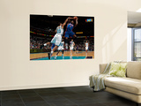 Detroit Pistons v New Orleans Hornets: Rodney Stuckey and Willie Green Wall Mural by Chris Unknown