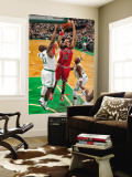 Chicago Bulls v Boston Celtics: Joakim Noah and Glen Davis Wall Mural by Brian Babineau