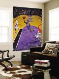 Washington Wizards v Sacramento Kings: Al Thornton Wall Mural by Rocky Widner