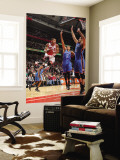 Oklahoma City Thunder v Chicago Bulls: Derrick Rose, Nenad Krstic and Thabo Sefolosha Wall Mural by Joe Murphy