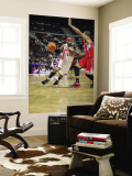 Los Angeles Clippers v Detroit Pistons: Richard Hamilton and Eric Gordon Wall Mural by Allen Einstein