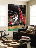 Chicago Bulls v Boston Celtics: Rajon Rondo and Joakim Noah Wall Mural by Brian Babineau