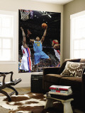 New Orleans Hornets v Detroit Pistons: David West and Jason Maxiell Wall Mural by Allen Einstein
